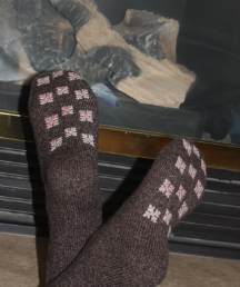 Alpaca Casuals Lodge Socks
