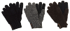 Double Layer Gloves with Suede